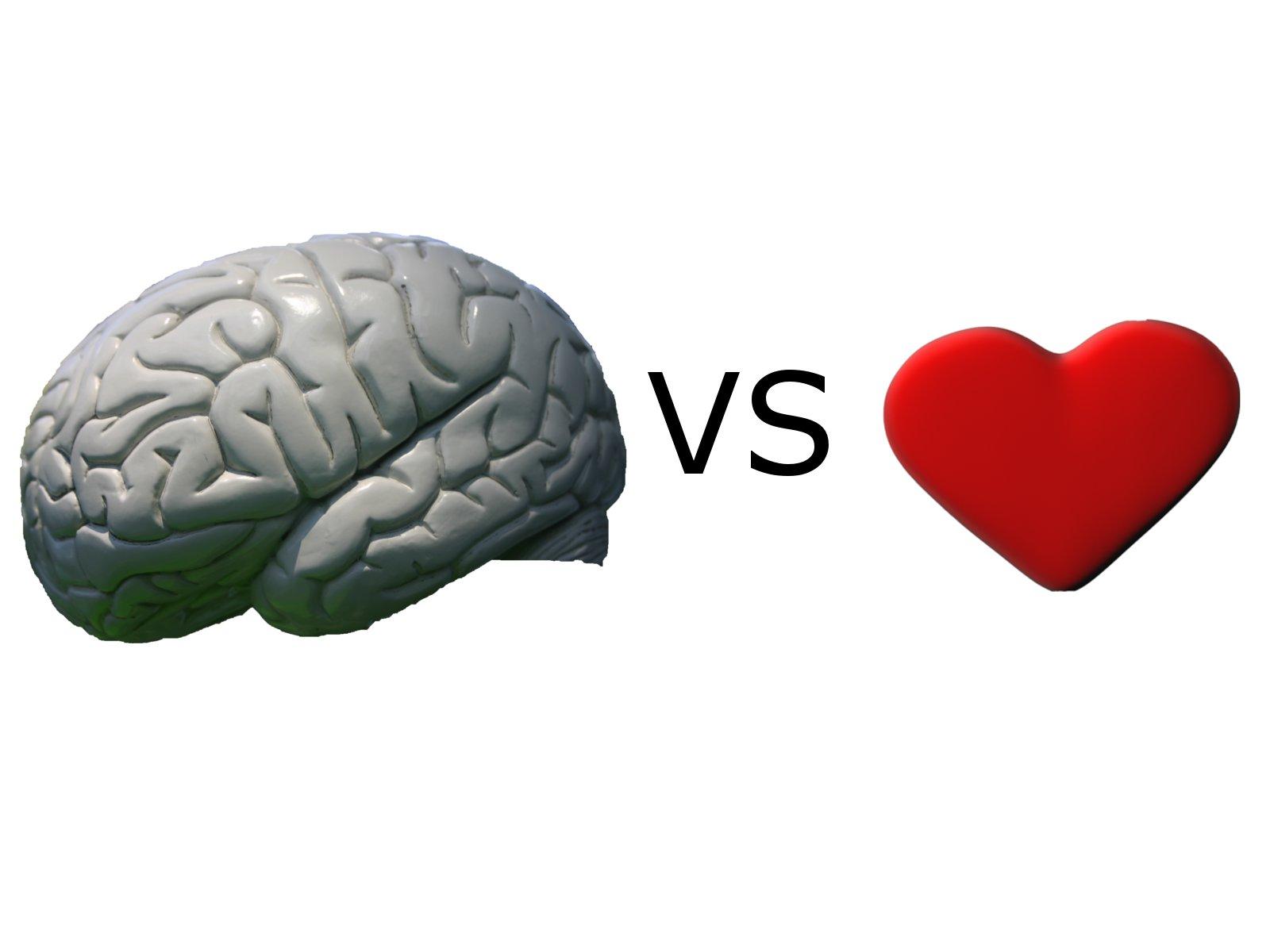 Wieczny dylemat - zwycięzcą serce